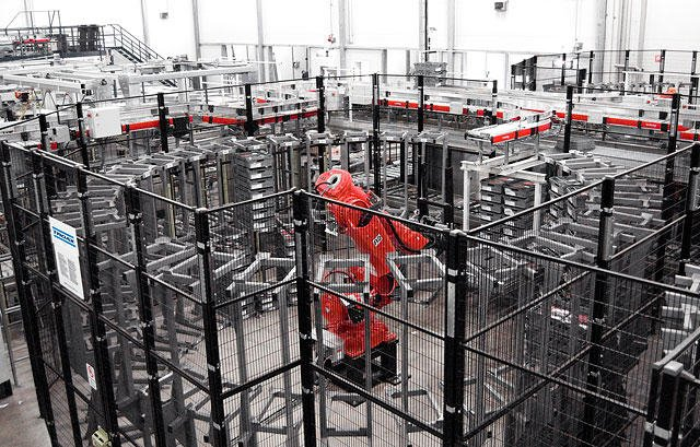Robotics Guarding